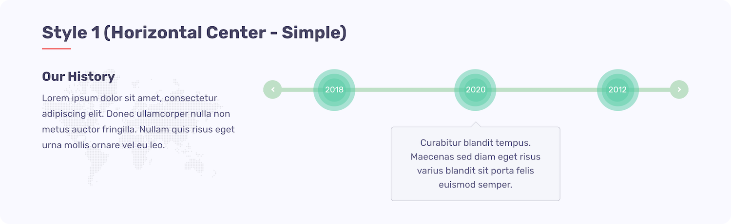 Quick Timeline - Style 1